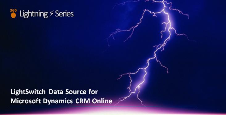 LightSwitch Help Website > Blog - Xpert 360's Dynamics CRM Online